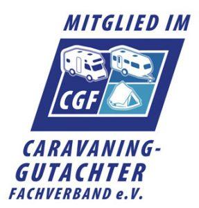 logo caravan gutachter verband
